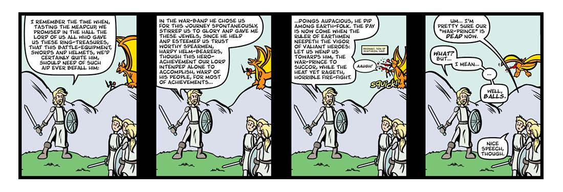 Beowulf (6 of 6)  Comic Strip