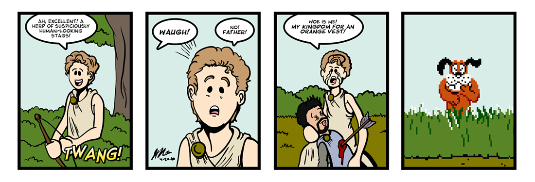 The History of the Kings of Britain (1 of 2)  Comic Strip