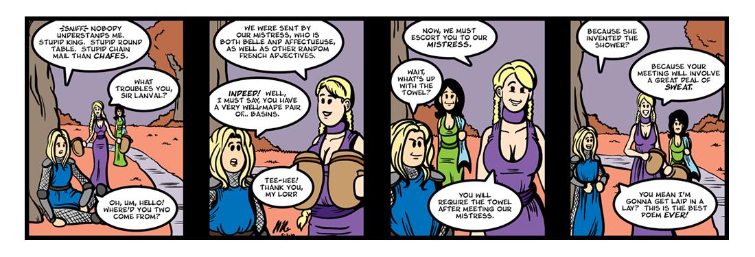 Lanval (2 of 2)  Comic Strip