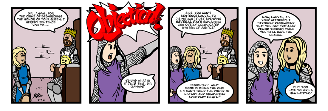 Lanval (6 of 8)  Comic Strip