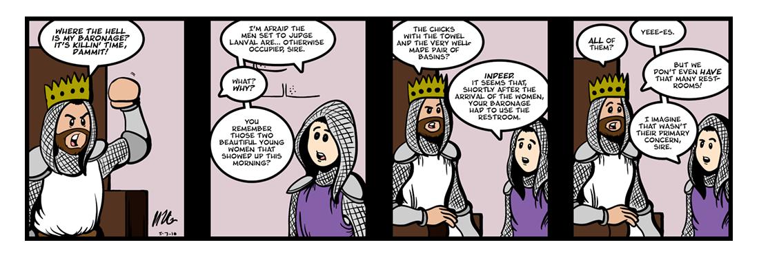 Lanval (7 of 8)  Comic Strip
