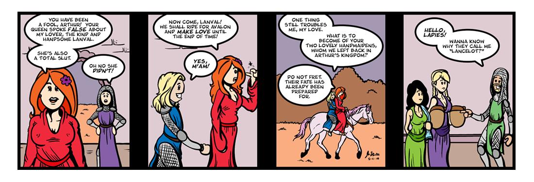 Lanval (8 of 8)  Comic Strip