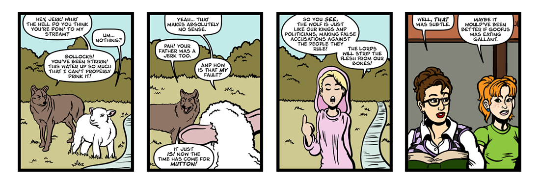 Fables: The Wolf and the Lamb
