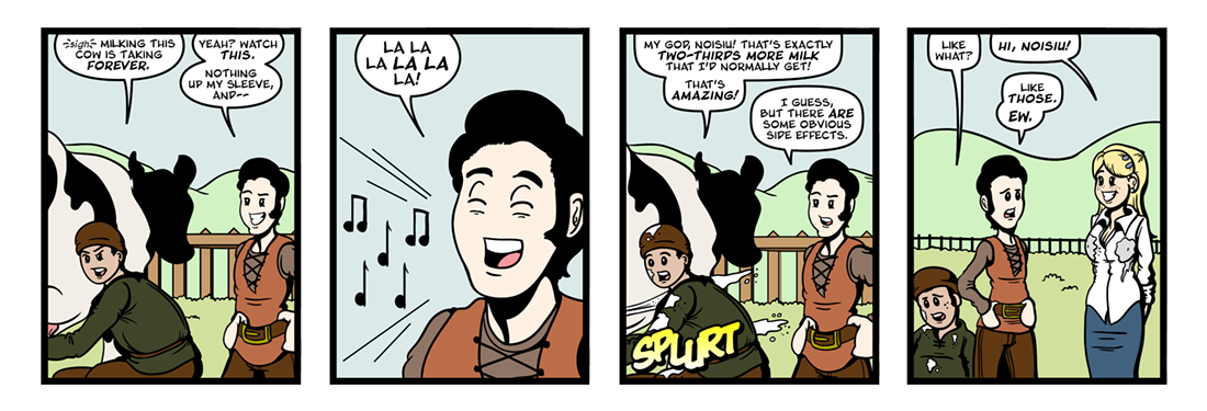 The Exile of the Sons of Uisliu (3 of 8)  Comic Strip