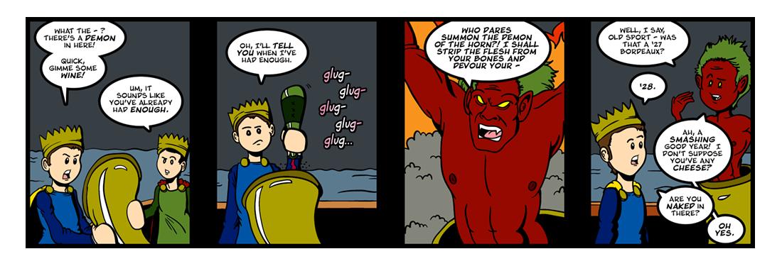 Lludd and Lleuelys (2)  Comic Strip