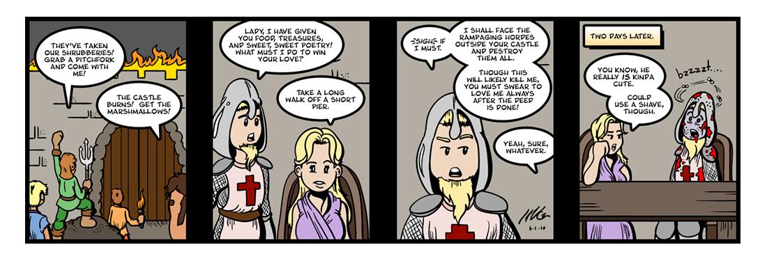 Ancrene Riwle (1)  Comic Strip