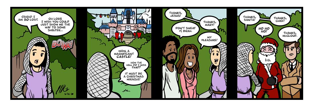 Sir Gawain and the Green Knight (9 of 20)  Comic Strip