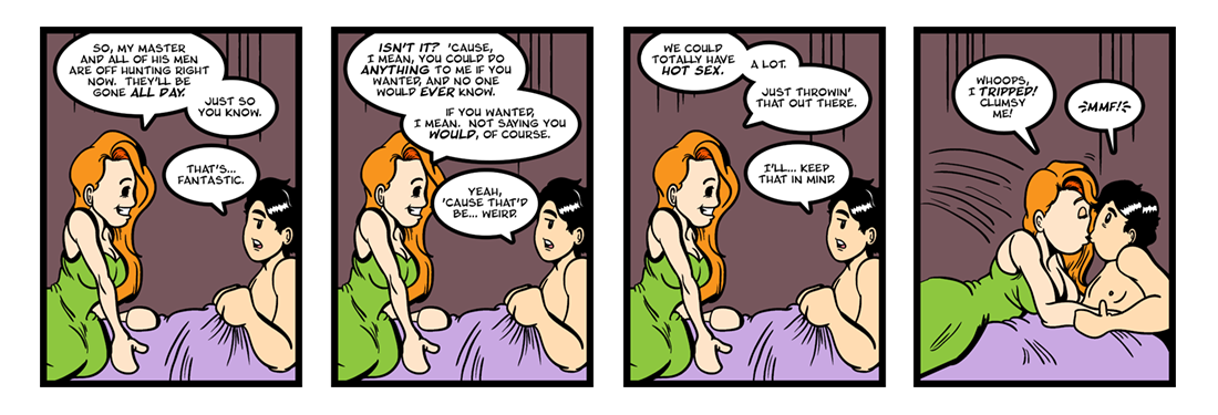 Sir Gawain and the Green Knight (12 of 20)  Comic Strip