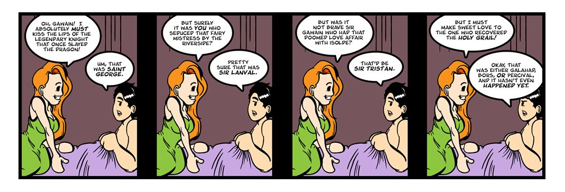 Sir Gawain and the Green Knight (15 of 20)  Comic Strip