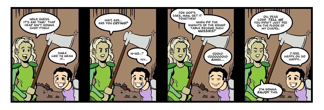 Sir Gawain and the Green Knight (19 of 20)  Comic Strip
