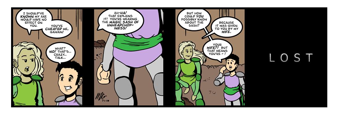 Sir Gawain and the Green Knight (20 of 20)  Comic Strip