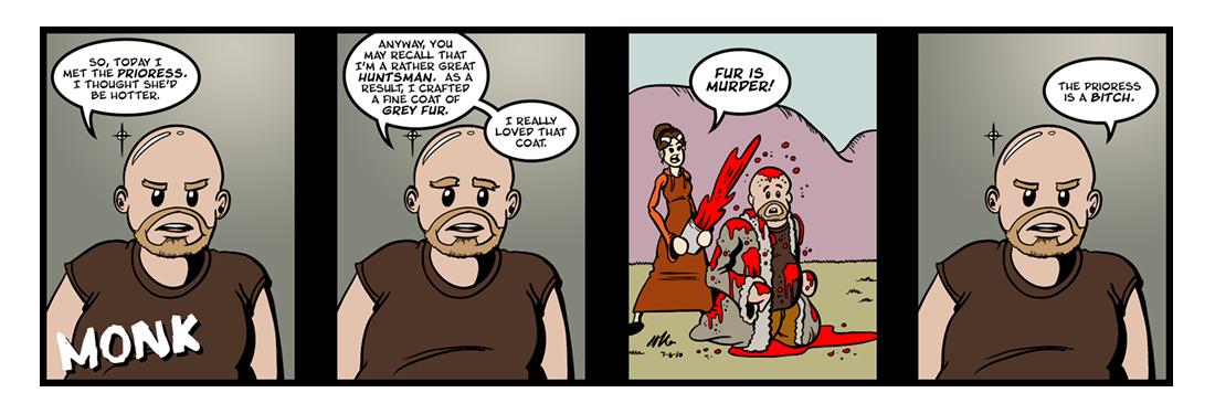 Canterbury Tales: General Prologue (3 of 4)  Comic Strip