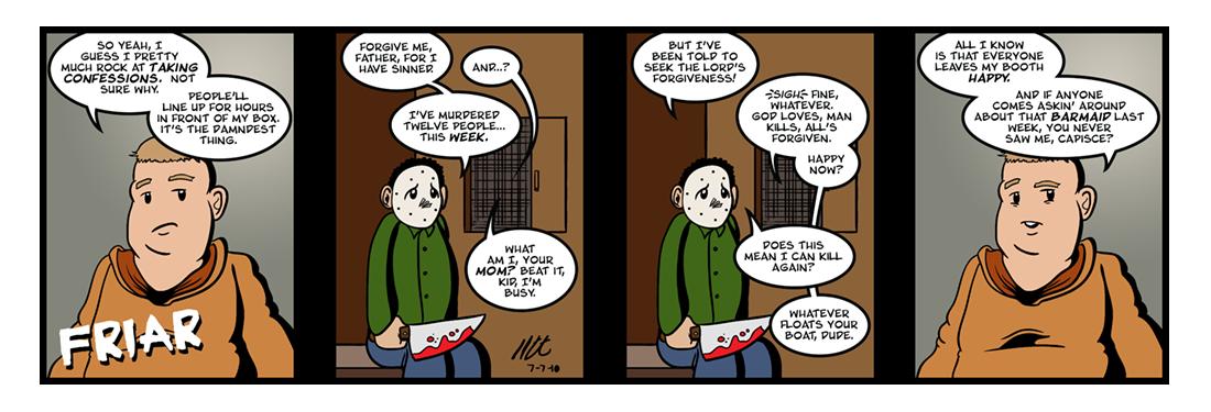 Canterbury Tales: General Prologue (4 of 4)  Comic Strip