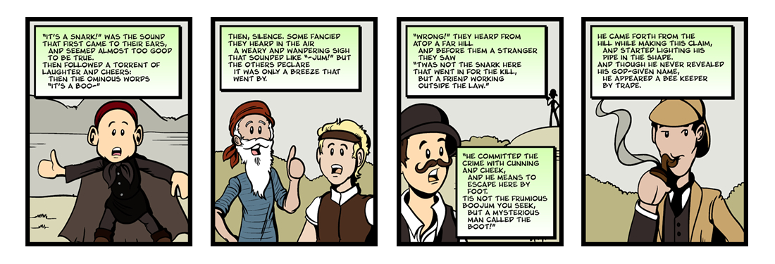The Hunting of the Snark  Comic Strip