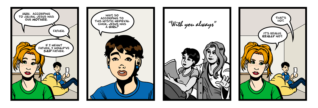 A Book of Showings (2 of 2)  Comic Strip