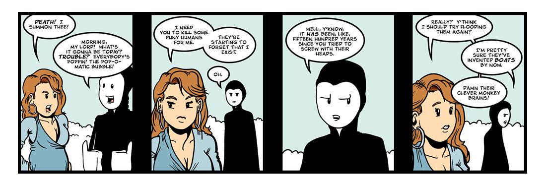 Everyman (1 of 5)  Comic Strip