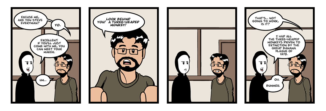 Everyman (2 of 5)  Comic Strip