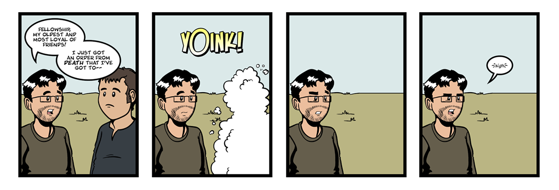 Everyman (3 of 5)  Comic Strip