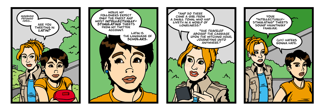 Utopia (1 of 6)  Comic Strip