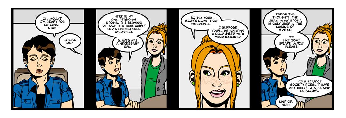 Utopia (2 of 6)  Comic Strip