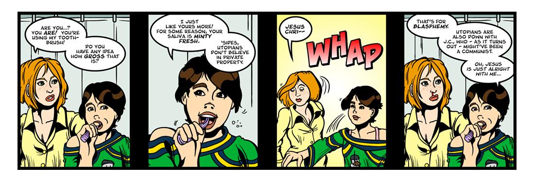 Utopia (5 of 6)  Comic Strip