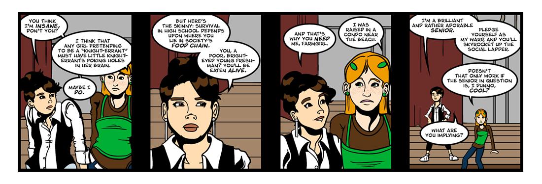 Don Quixote (2 of 3)  Comic Strip