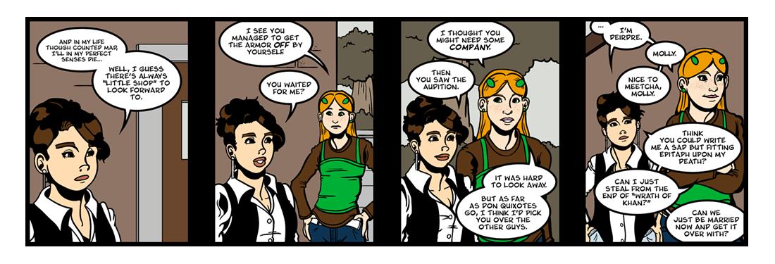 Don Quixote (3 of 3)  Comic Strip