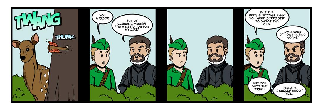 Woodmanship  Comic Strip