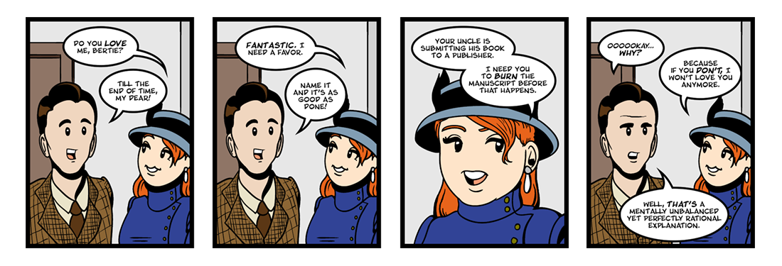 Jeeves Takes Charge (3 of 5)  Comic Strip
