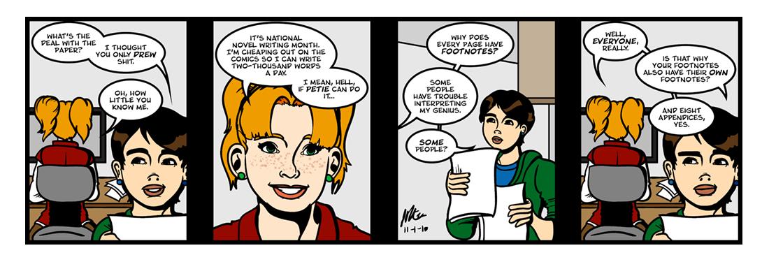 The Shepheardes Calender  Comic Strip