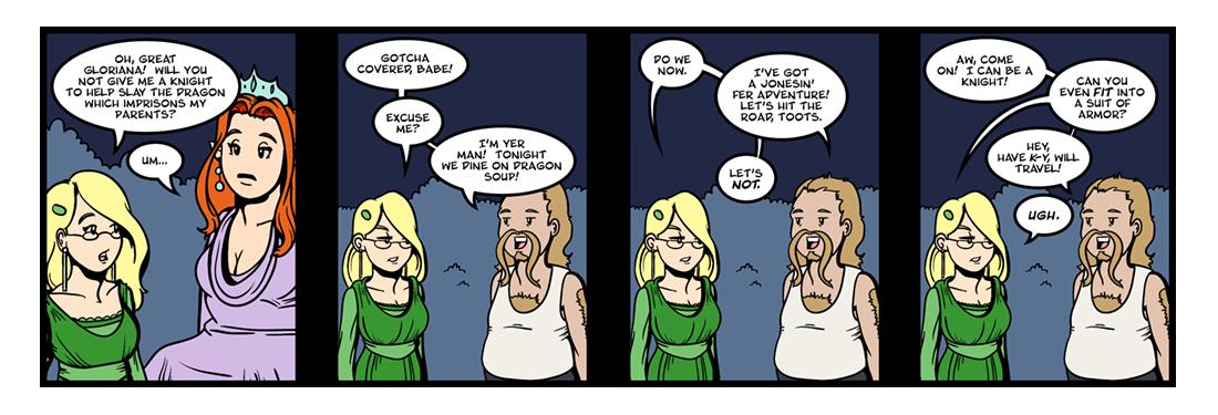 The Faerie Queene (1 of 14)  Comic Strip