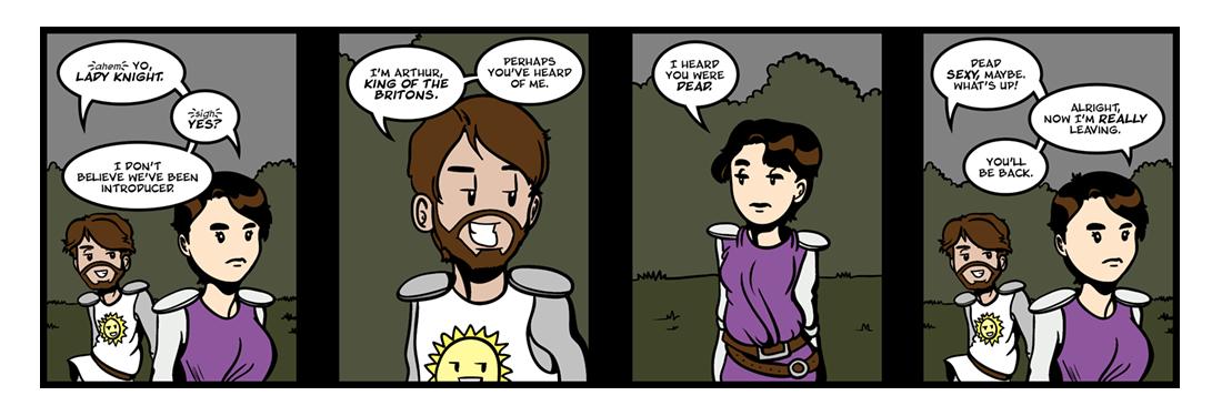 The Faerie Queene (8 of 14)  Comic Strip