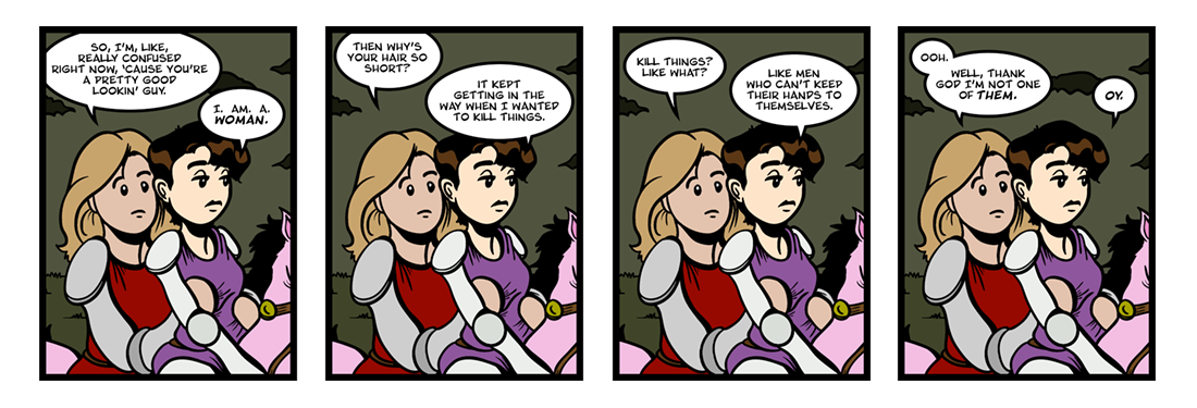 The Faerie Queene (11 of 14)  Comic Strip