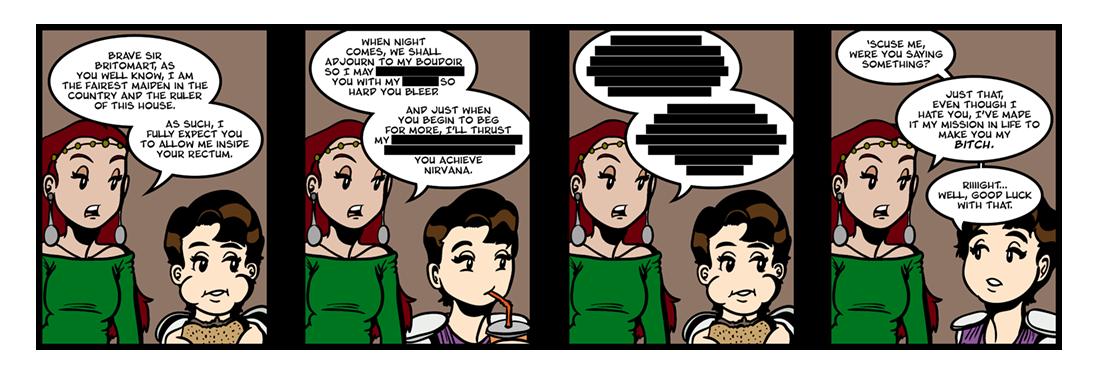The Faerie Queene (13 of 14)  Comic Strip