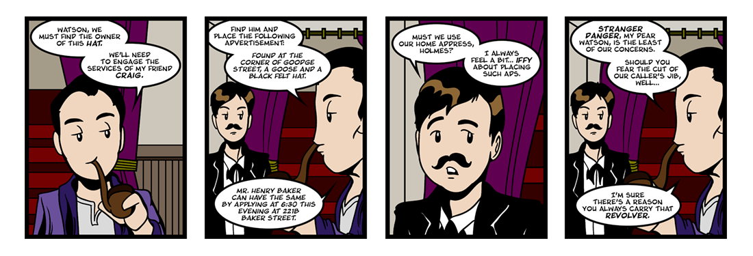 The Adventure of the Blue Carbuncle (2 of 5)  Comic Strip
