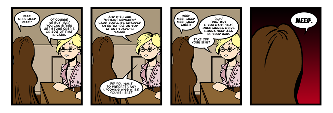 The Gift of the Magi (2 of 3)  Comic Strip
