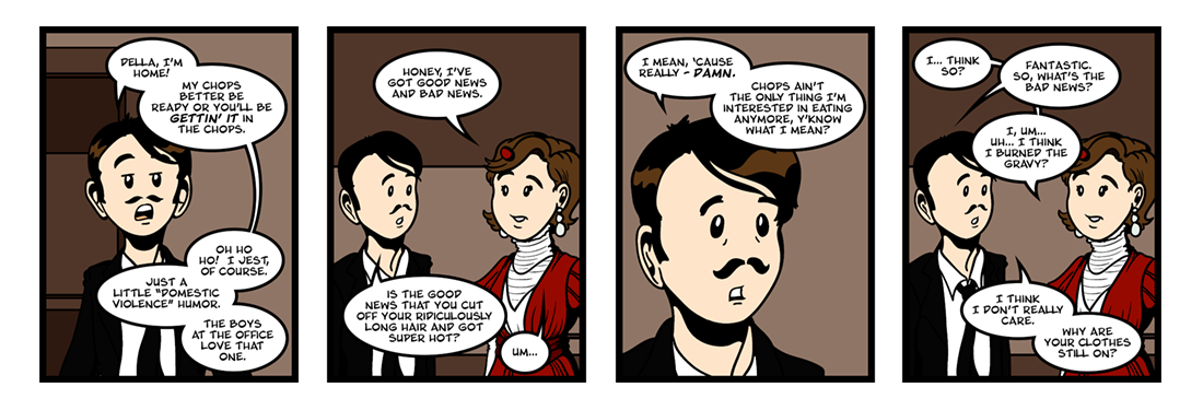 The Gift of the Magi (3 of 3)  Comic Strip