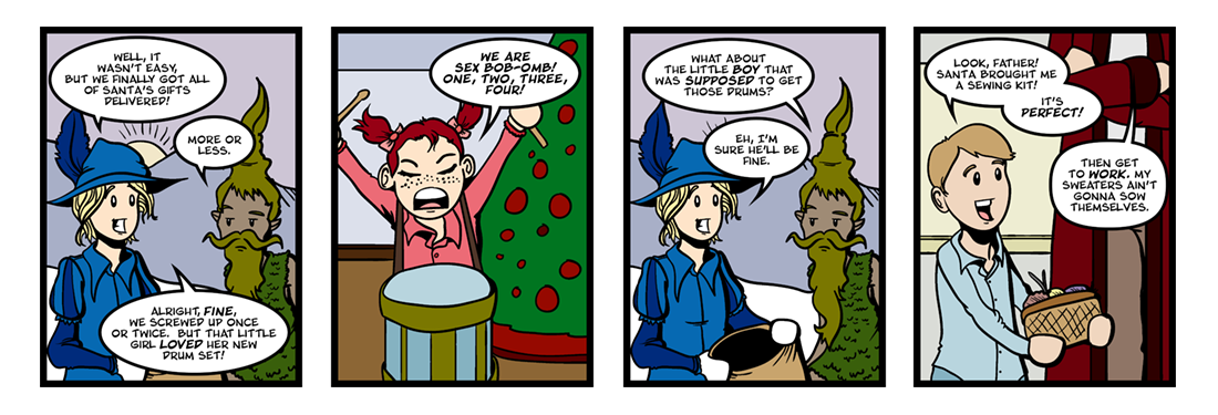A Kidnapped Santa Claus (3 of 4)