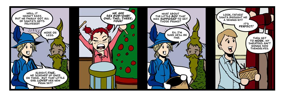 A Kidnapped Santa Claus (3 of 4)  Comic Strip