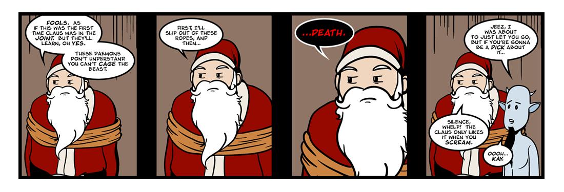 A Kidnapped Santa Claus (4 of 4)  Comic Strip