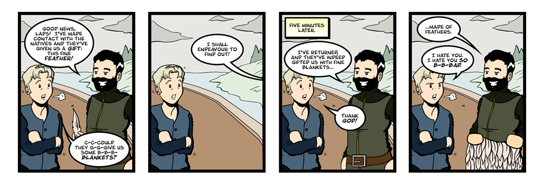 The Famous Voyage of Sir Francis Drake  Comic Strip
