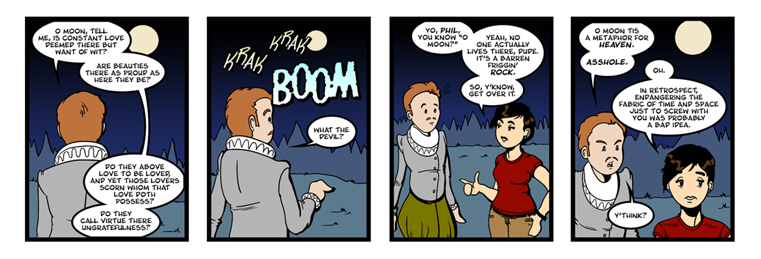 Astrophil and Stella (2 of 4)  Comic Strip