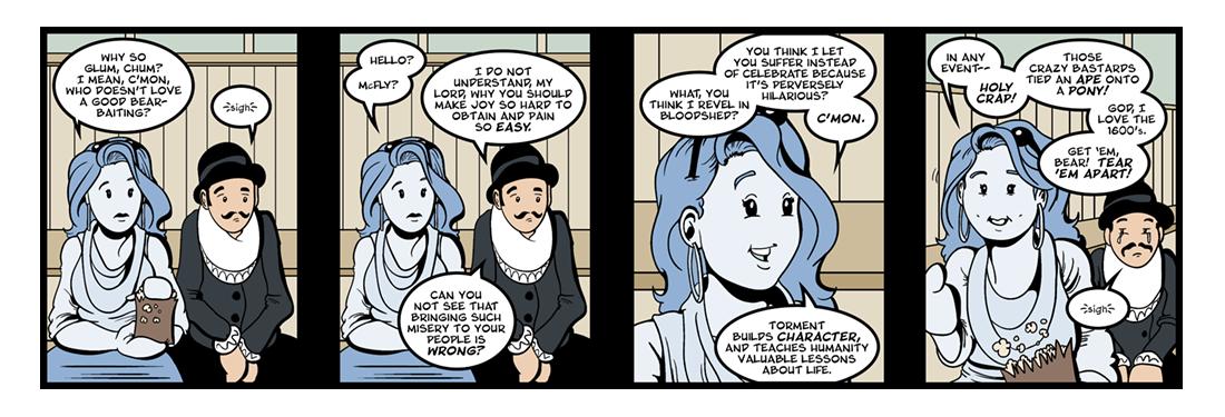 Mustapha  Comic Strip
