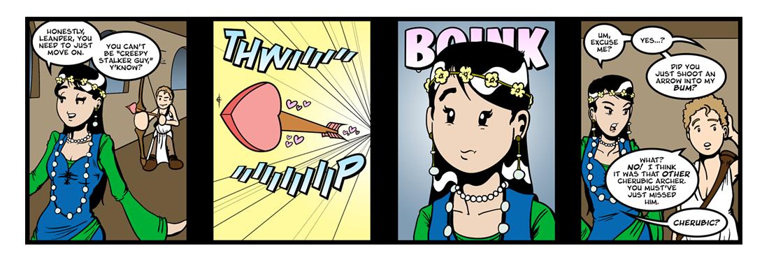Hero and Leander (4 of 15)  Comic Strip