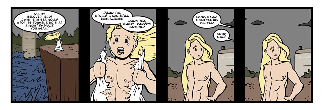 Hero and Leander (13 of 15)  Comic Strip