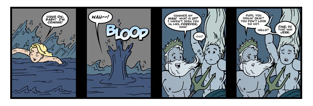 Hero and Leander (14 of 15)  Comic Strip