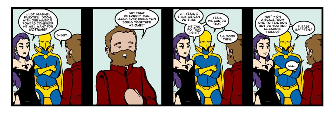 Doctor Faustus (3 of 19)  Comic Strip