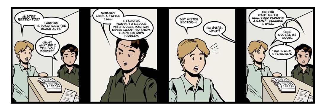 Doctor Faustus (4 of 19)  Comic Strip