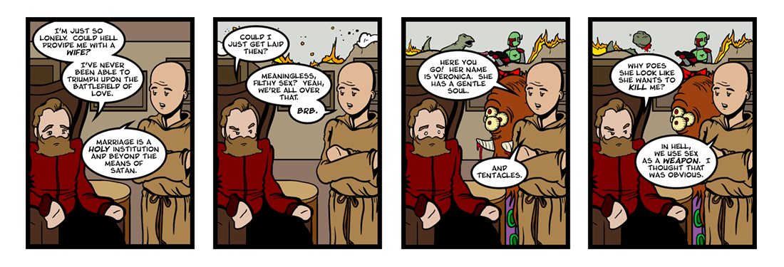 Doctor Faustus (12 of 19)  Comic Strip