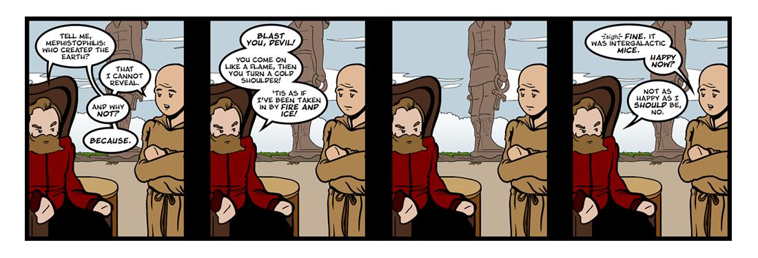 Doctor Faustus (13 of 19)  Comic Strip